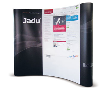 Popup systems for trade fairs & conferences.