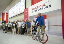 Prudential Ride London Cycling Show