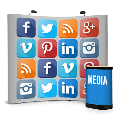 Social Media Exhibition Stands