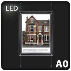 1 x A0 LED Light Pocket
