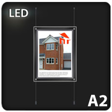 1 x A2 LED Light Pocket
