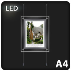 1 x A4 LED Light Pocket