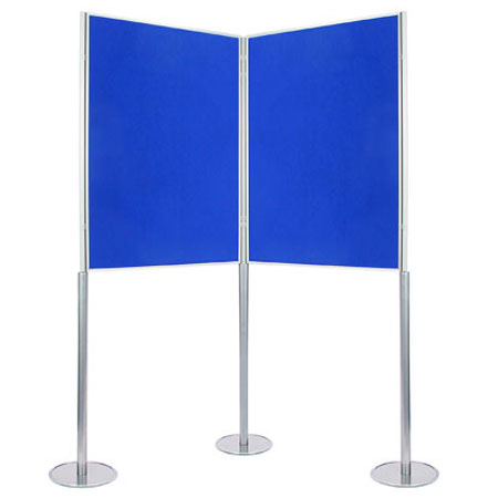 Double sided portrait A0 poster boards