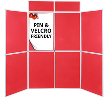 Pro-Fold 8 Panel Folding Display Boards