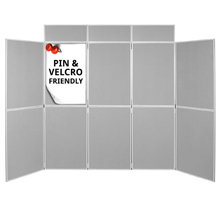 Pro-Fold 10 Panel Folding Display Boards