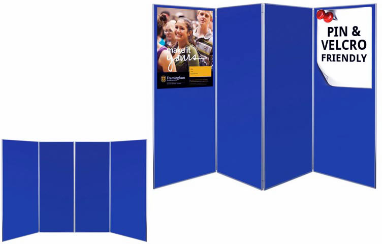 Exhibition Display Board : Large folding exhibition boards mm size ral