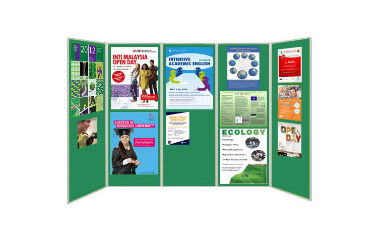 Double sided Jumbo display boards