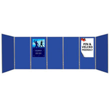 Pro-Flex 7 Large <strong> Panel & Pole Kit </strong>  - 1810 x 923mm Exhibition Boards