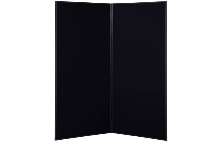 Black poster boards