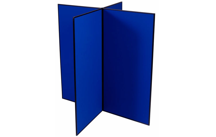 Create interesting shapes with our modular display boards