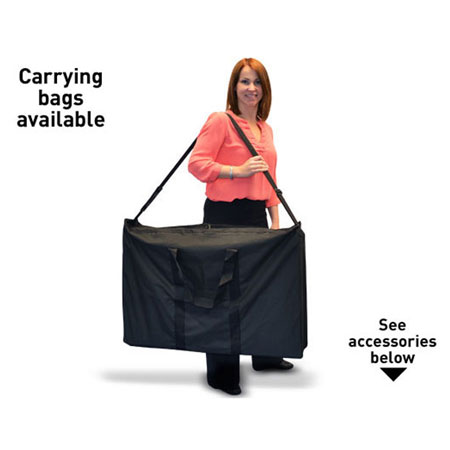 Carrying equipment available .