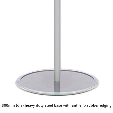 300mm heavy duty steel support bases:  poster board kits.