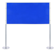 Elevated Single Panel 1800 x 900mm Display Board