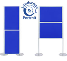 Pro-Link Panel & Pole Kit with 2x 900 x 600mm Display Boards
