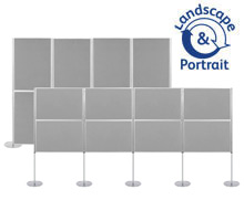 Pro-Link Panel & Pole Kit with 8x 900 x 600mm Display Boards