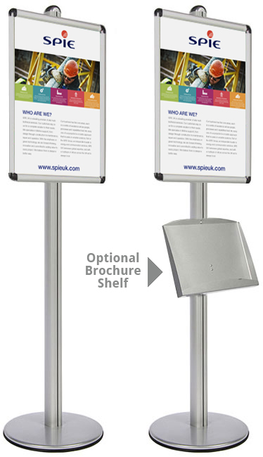 Display menus and general A1 posters