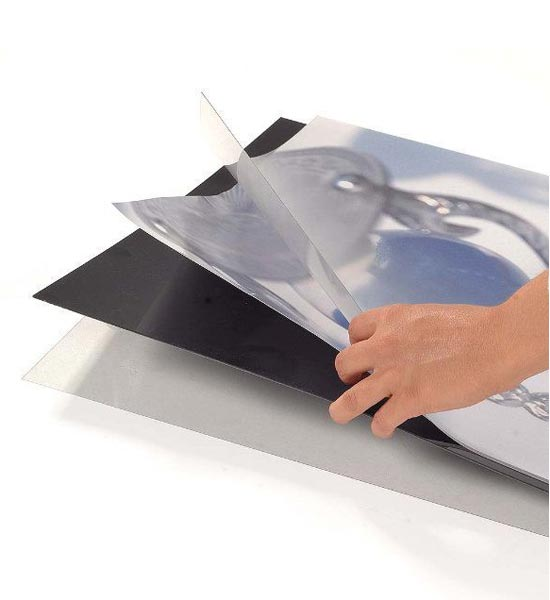 Supplied with middle black-out sheet and clear poster cover sheets