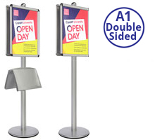 AXIS A1 - Double Sided Heavy Duty Poster Stand