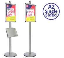 AXIS A2  - Single Sided Heavy Duty Poster Stands