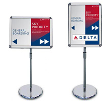 Titan A2 Sign Holders