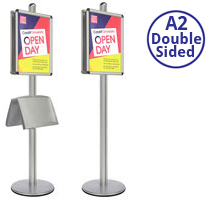 AXIS A2 Heavy Duty Poster Stand Double Sided