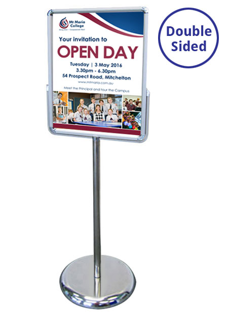 A2 Double Sided Sign Holders | RAL Display