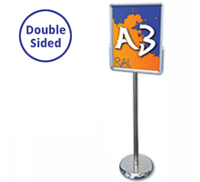 Mercury A3 Portrait Double Sided Sign Holder