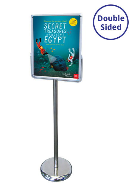 A3 double sided sign holders from RAL Display