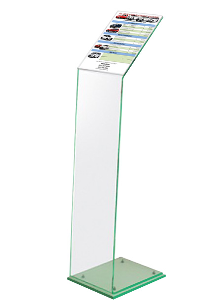 Silent salesman information stands |RAL Display