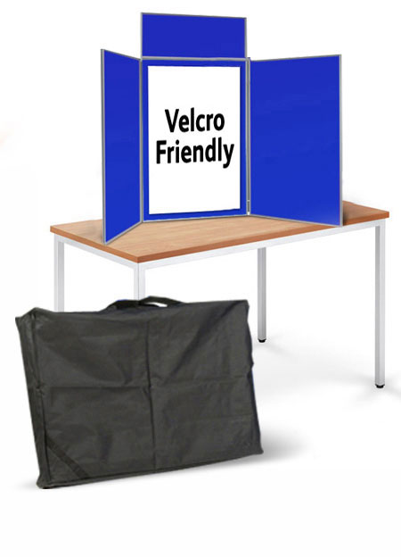 HIre of tabletop folding display stands.