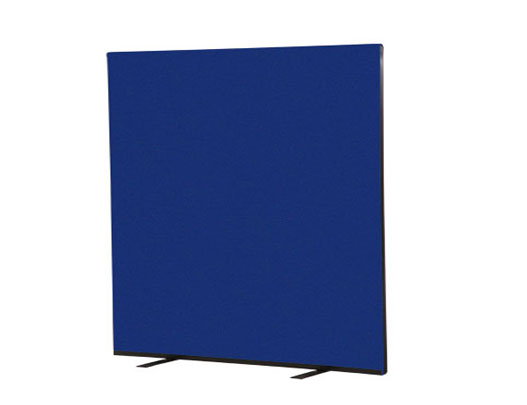 Office screens 1200mm high with metal support feet.