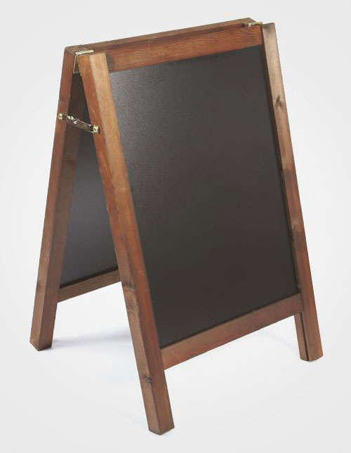Chalkboards are available in 2 sizes