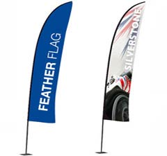 Feather Promotional Flags