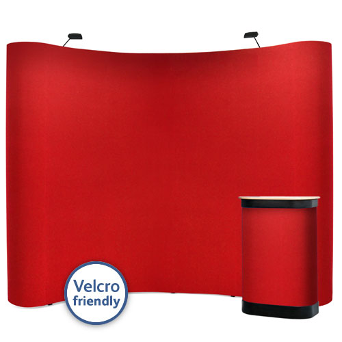 3x4 popup stands that accept Velcro posters