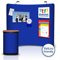 Velcro Friendly Fabric Pop-up Stands for Posters