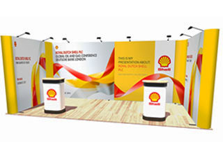 U-Shaped Pop Up Stand - 6m x 3m Space
