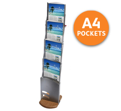 Andes A4 Portable Brochure Stands