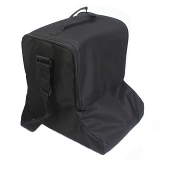 Carry bag included with portable brochure stands from RAL Display