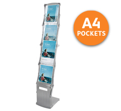 Everest A4 Portable Brochure Stands