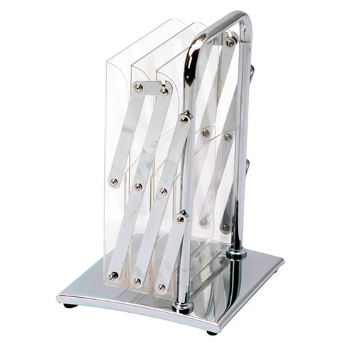 Folded portable brochure stand - EURO ST