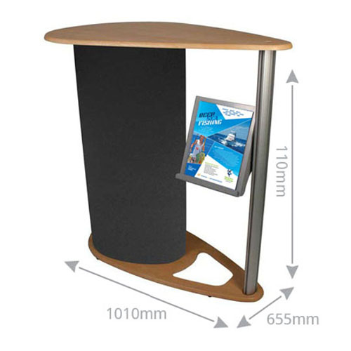 The Crest exhibition counter is a perfect demonstration counter