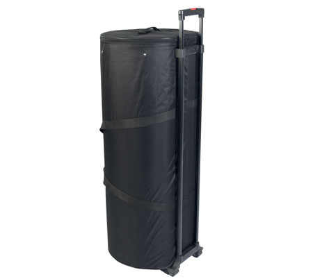 Easy to transport and store - All equipment is packed into one wheeled carry bag.