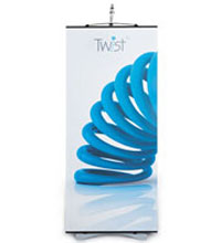 Twist Banner Stand - All Inclusive