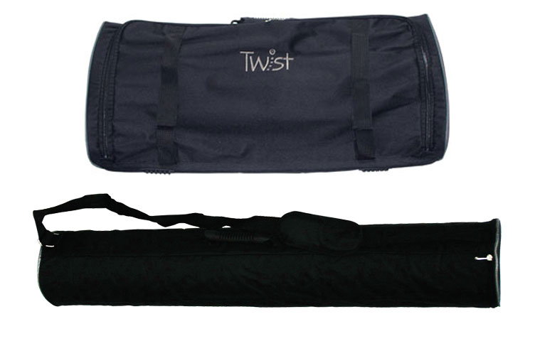 Carry bags for display Twist system