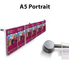 Hook On A5 Brochure & Leaflet Holder