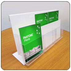 Double Tier A5 6 Pocket Leaflet Holder