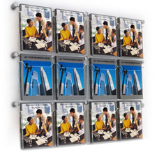 Hook Over A4 Brochure & Leaflet Holders